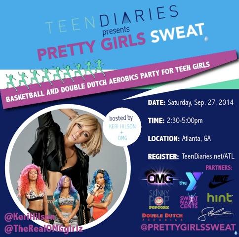 OMG Girlz PGS event flyer